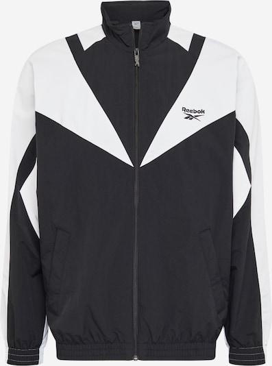 Sportinė striukė iš Reebok Classic , spalva - juoda / balta, Prekių apžvalga