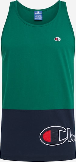 Champion Authentic Athletic Apparel T-Shirt en bleu marine / sapin, Vue avec produit