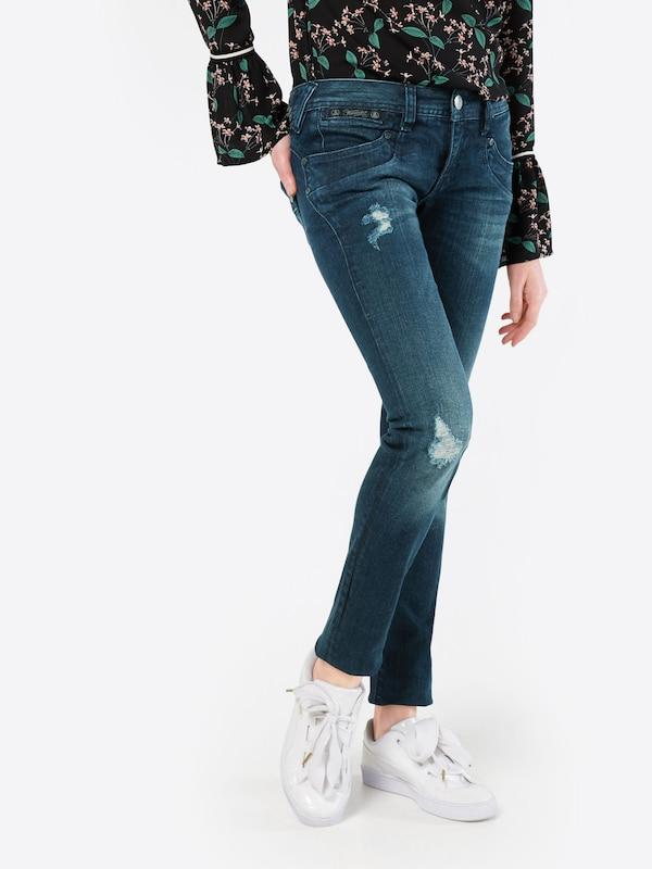 herrlicher 39 piper slim denim powerstretch 39 skinny jeans in blau about you. Black Bedroom Furniture Sets. Home Design Ideas