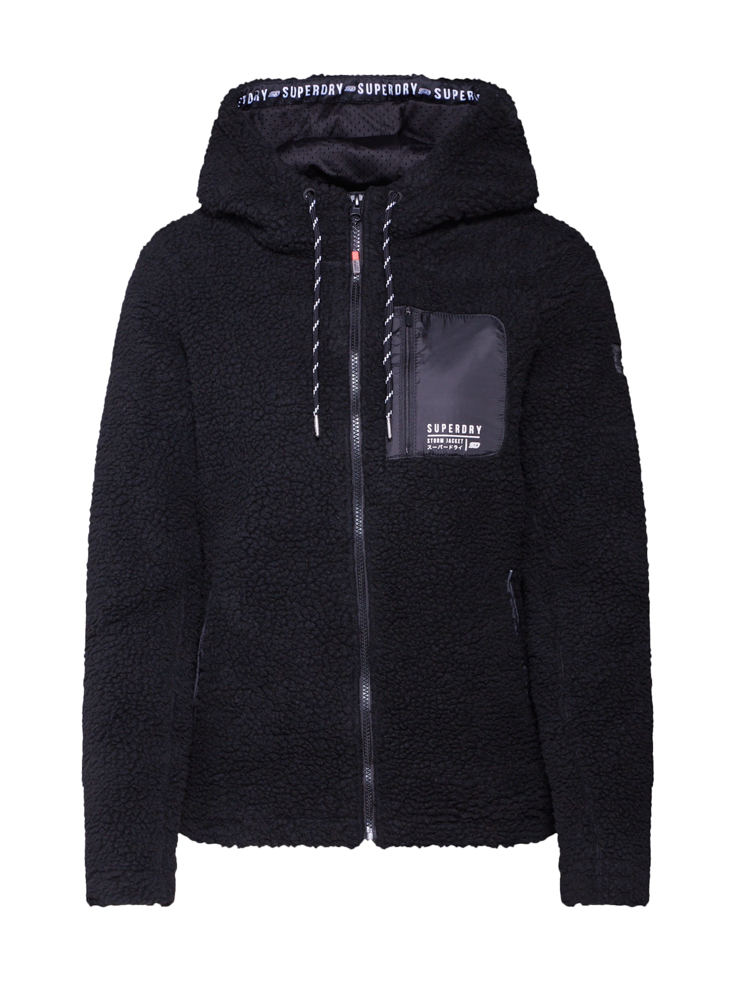 Noir shirt Ziphood' Urban 'storm En Sweat Superdry qVLGUzMpS