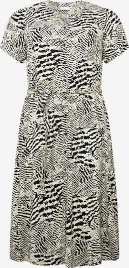 ONLY Carmakoma Robe 'TUKZU' en noir / blanc, Vue avec produit