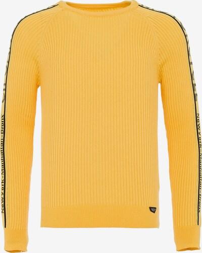 CIPO & BAXX Pullover in gelb, Produktansicht