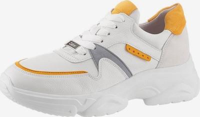 GABOR Sneaker in gelb / grau / weiß, Produktansicht
