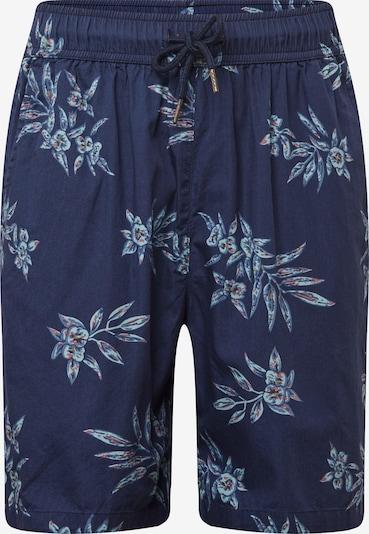 Urban Classics Pantalon 'Pattern Resort' en bleu fumé, Vue avec produit