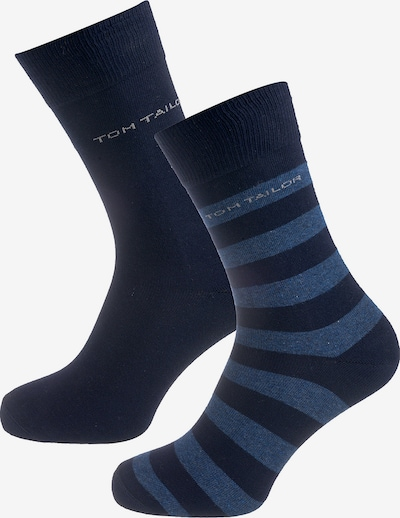 TOM TAILOR 2 Paar Socken in blau / marine: Frontalansicht