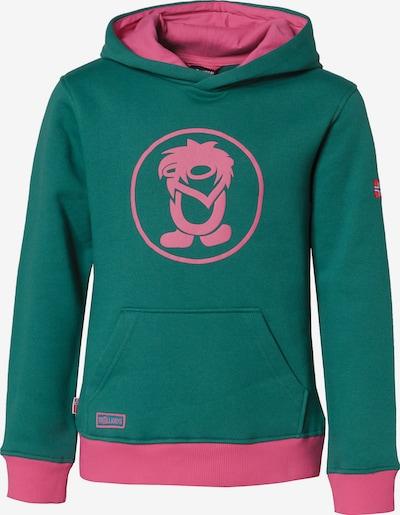 TROLLKIDS Sweatshirt in grün / pink, Produktansicht