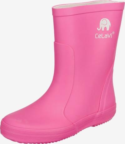 CELAVI Gummistiefel in pink, Produktansicht