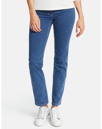 GERRY WEBER Jeans in blau, Modelansicht
