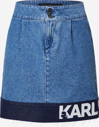 Karl Lagerfeld Denim Rok in de kleur Blauw denim, Productweergave