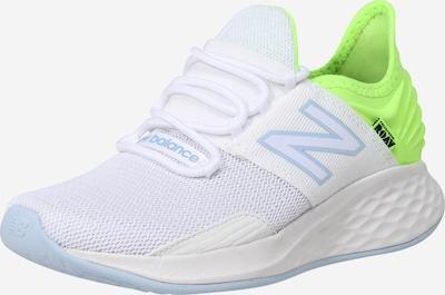 new balance Chaussure de sport 'WROAVCW' en vert fluo / blanc, Vue avec produit