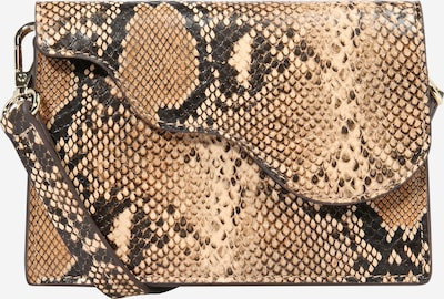NA-KD Umhängetasche in beige / braun / schwarz, Produktansicht