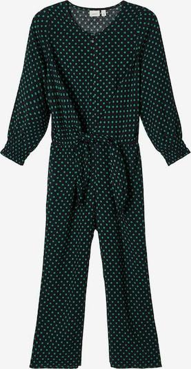 NAME IT Jumpsuit in grün / schwarz, Produktansicht