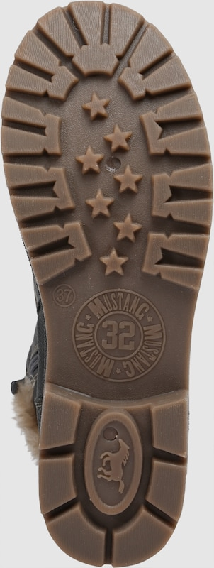 Haltbare Mode billige Schuhe MUSTANG   Schnürstiefel mit Pelzimitat Pelzimitat Pelzimitat Schuhe Gut getragene Schuhe 533f9e