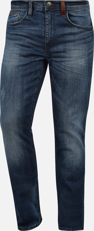 BLEND 5-Pocket-Jeans 'HUSAO' in blau: Frontalansicht