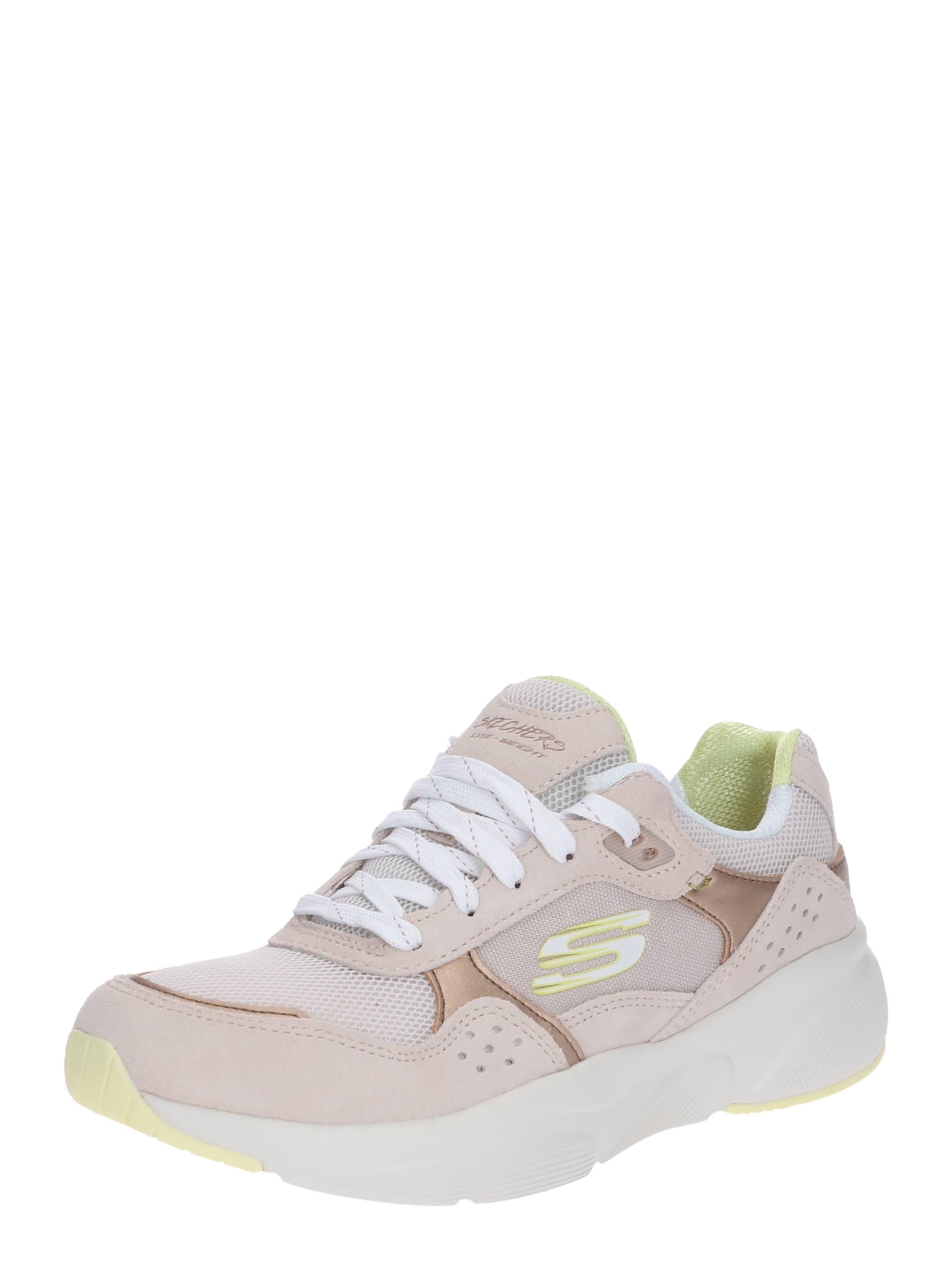 'meridian' Weiß Sneaker In Skechers BeigeRosa b6yv7IfgY