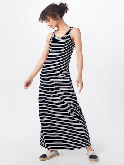 Urban Classics Kleid in schwarz / weiß, Modelansicht