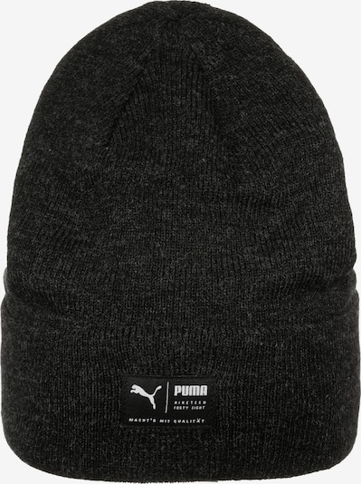 PUMA Beanie 'Archive Heather' in mottled black, Item view