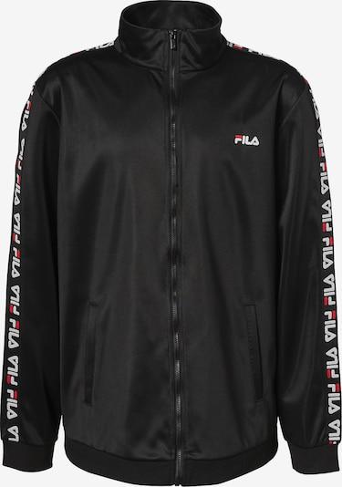 FILA Trainingsjacke in schwarz, Produktansicht