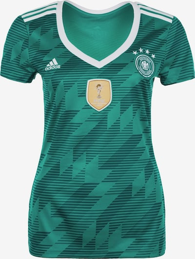 ADIDAS PERFORMANCE Trikot 'DFB Away WM 2018' in petrol / weiß, Produktansicht