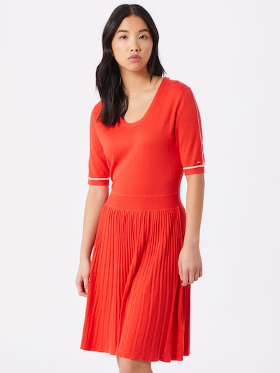 Calvin Klein Kleid in orange, Modelansicht