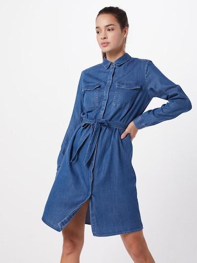 PIECES Košilové šaty 'PCNISSA' - modrá džínovina, Model/ka