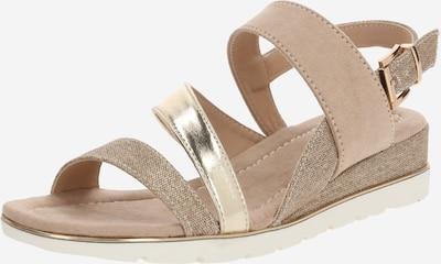 MARIAMARE Sandale 'Hebe' in beige / gold / weiß, Produktansicht