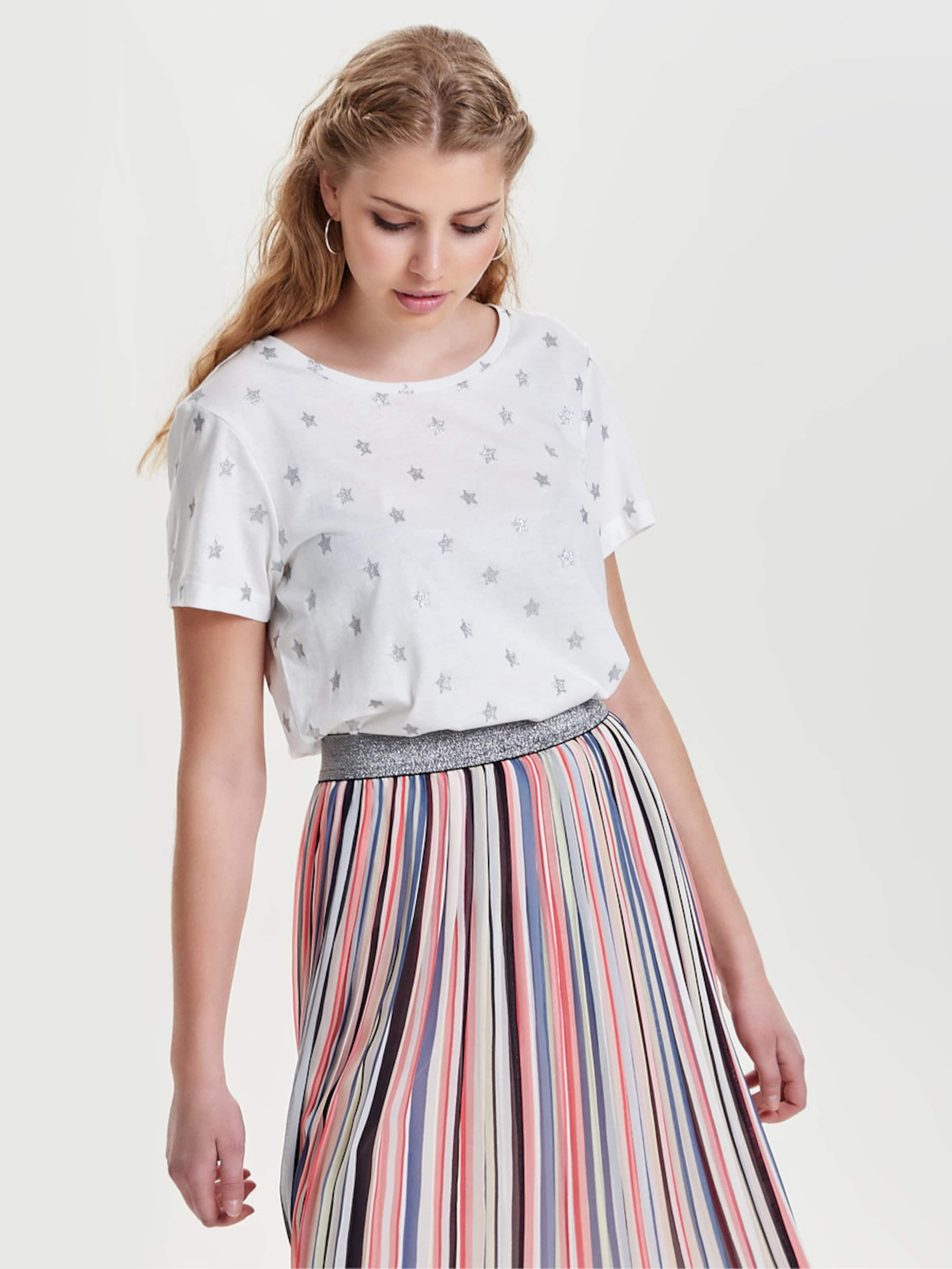 JACQUELINE de YONG Bedrucktes T-Shirt Billig Verkaufen Mode-Stil Günstige Austrittsstellen Rabatt Top-Qualität Vermarktbare Verkauf Online C07cSYBfT
