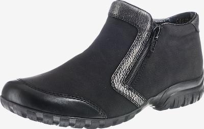 RIEKER Winterstiefelette in silbergrau / schwarz, Produktansicht
