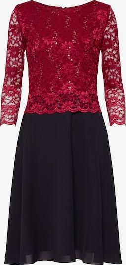 Kokteilinė suknelė iš SWING , spalva - vyno raudona spalva / juoda: Vaizdas iš priekio