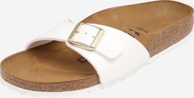 BIRKENSTOCK Sandali | bela barva, Prikaz izdelka