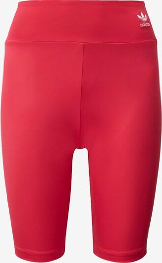 ADIDAS ORIGINALS Radlerhose in rosa / weiß, Produktansicht