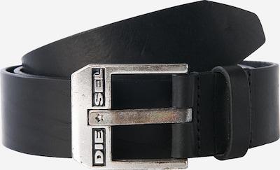 DIESEL Opasek 'Bluestar' - černá / stříbrná, Produkt