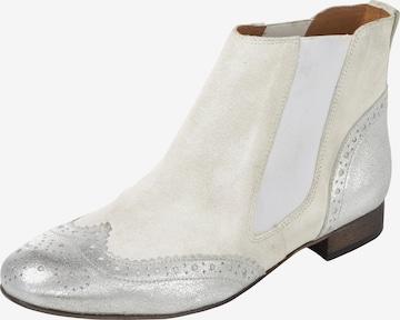 heine Chelsea boots in Beige