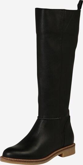 Cizme 'Venda' HUB pe negru, Vizualizare produs