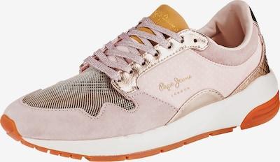 Pepe Jeans Sneakers in goldgelb / rosegold / dunkelorange / altrosa / weiß, Produktansicht