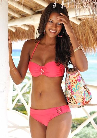 LASCANA Bikini en rouge, Vue avec modèle