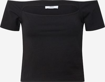 ONLY Tričko 'ONLHONEY' - čierna: Pohľad spredu
