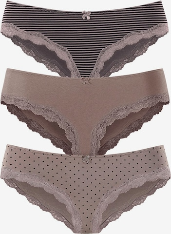 LASCANA Panty in Brown