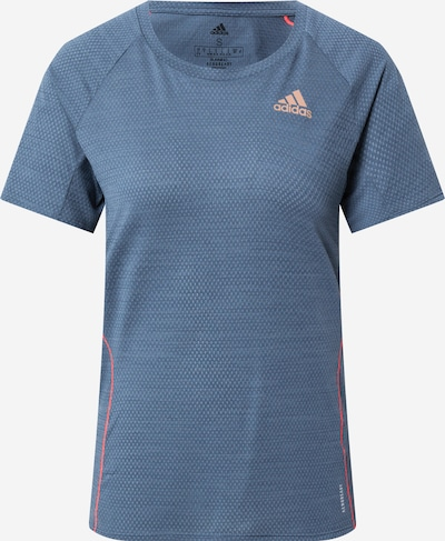 ADIDAS PERFORMANCE T-Shirt in grau / orange, Produktansicht