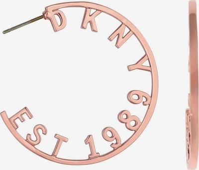 DKNY Creolen in rosegold, Produktansicht