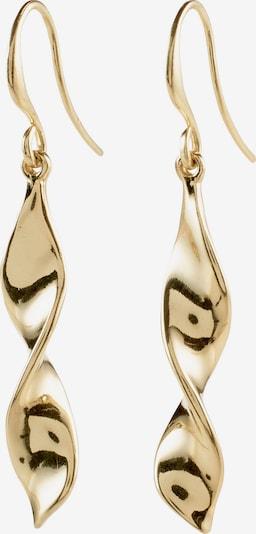 Pilgrim Boucles d'oreilles 'Elaine' en or: Vue de face
