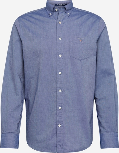 GANT Hemd 'The Oxford Shirt BD' in taubenblau, Produktansicht
