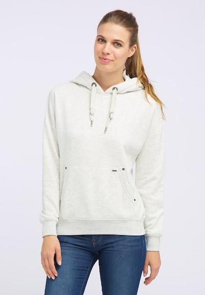 DREIMASTER Pullover in weiß: Frontalansicht