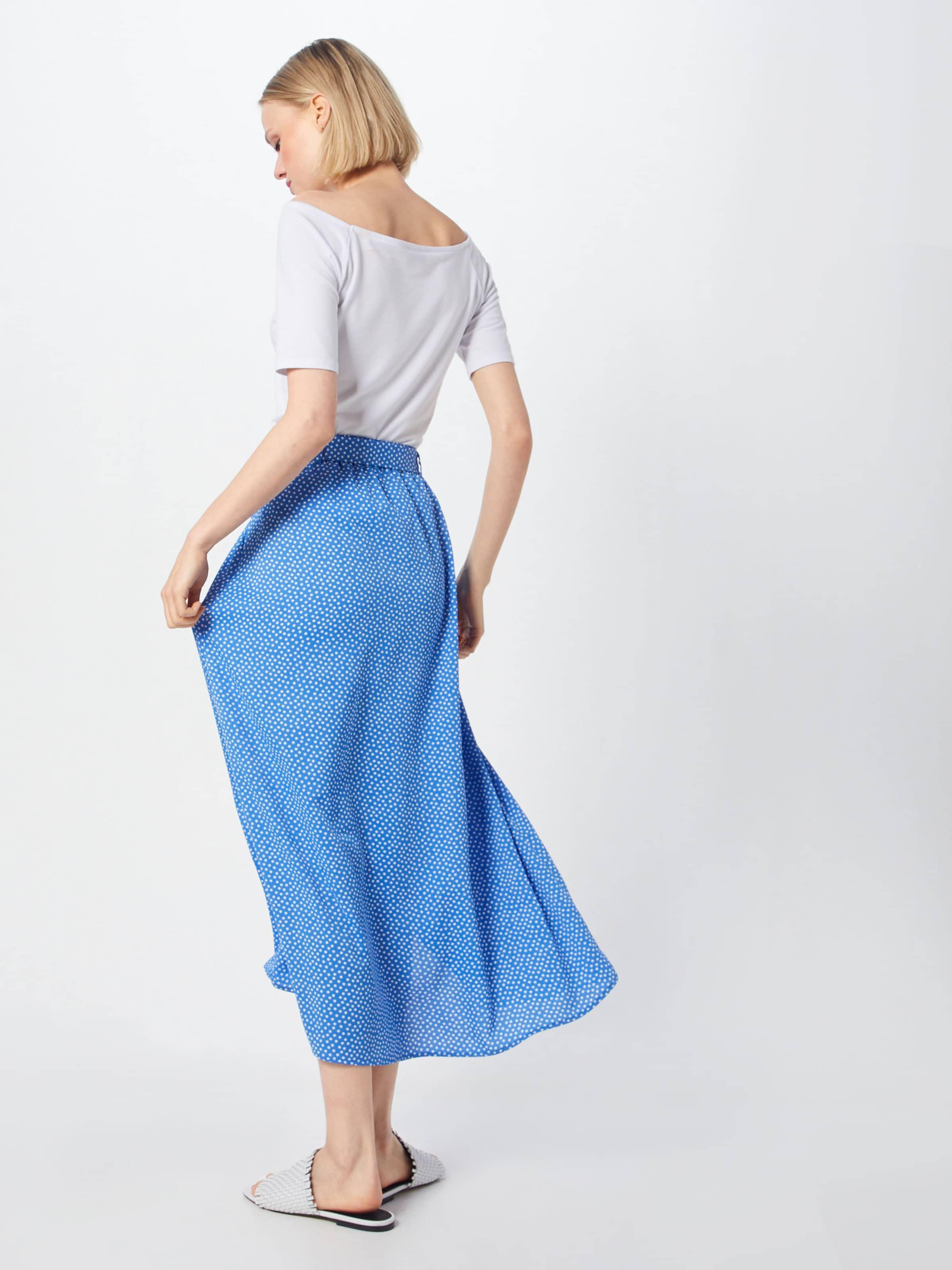 Mw Bleu Jupe En 'pcelmia Pieces ClairBlanc Maxi Skirt' W2IYDHE9