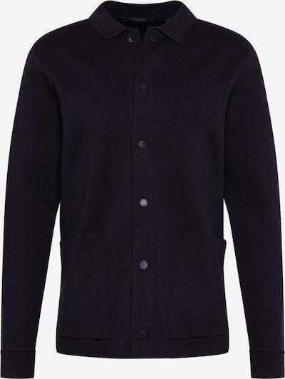SCOTCH & SODA Cardigan 'Knitted longer length cardigan' in schwarz, Produktansicht