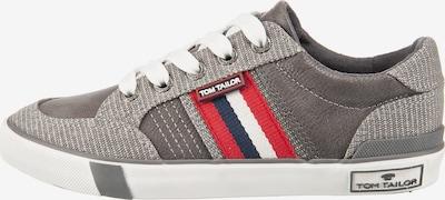 TOM TAILOR Sneakers Low in grau, Produktansicht