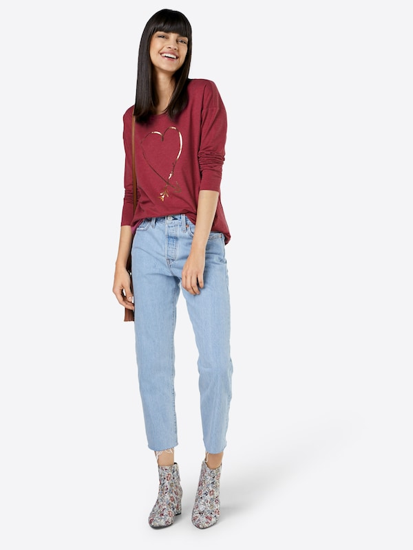 shirt Edc Bordeaux En T By Esprit 4j3LARq5