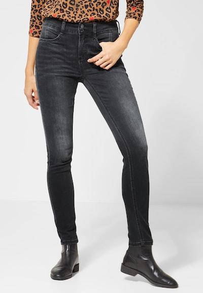 STREET ONE Jeans 'York' in grau, Modelansicht
