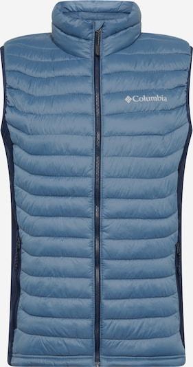 COLUMBIA Sportbodywarmer in de kleur Smoky blue / Donkerblauw / Wit, Productweergave