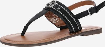 TOM TAILOR Séparateur d'orteils en cuivre / noir, Vue avec produit